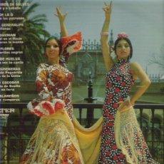 Discos de vinilo: SEVILLA POR SEVILLANAS *** PERLITA DE HUELVA / PACO GUZMN / LOS DE LA O EN BELTER 1972. Lote 9220358