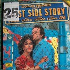 Discos de vinilo: LP - WEST SIDE STORY - LEONARD BERNSTEIN-JOSE CARRERAS, TATIANA TROYANOS, KIRI TE KANAWA, ETC... Lote 7008896