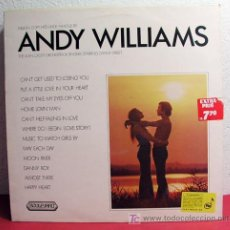 Discos de vinilo: THE ALAN CADDY ORCHESTRA & SINGERS ( MILLION COPY HITS MADE FAMOUS BY ANDY WILLIAMS ) ENGLAND-1972. Lote 7022113