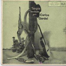 Discos de vinilo: CARLOS GARDEL,SILENCIO. Lote 7045756