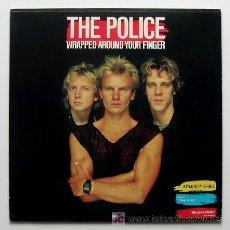 Discos de vinilo: THE POLICE ··· WRAPPED AROUND YOUR FINGER - (MAXISINGLE 45 RPM). Lote 23792775