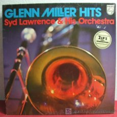 Discos de vinilo: SYD LAWRENCE & HIS ORCHESTRA VOCAL KEVIN KENT ( GLENN MILLER HITS ) GERMANY 2LP PHILIPS. Lote 7062775