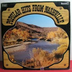 Discos de vinilo: POPULAR HITS FROM NASHVILLE HOLANDA LP33. Lote 7080553