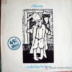 Discos de vinilo: MAXI - ALBANIA - COULD THIS BE LOVE / LITTLE BABY - ORIGINAL ESPAÑOL, STIFF RECORDS 1983. Lote 7092310