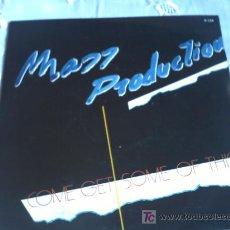 Discos de vinilo: MASS PRODUCTION:COME GET SOME OF THIS/INSTRUMENTAL/SINGLE/ZAFIRO 1986. Lote 7139486