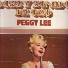 Discos de vinilo: PEGGY LEE LP VOCES Y SONIDOS DE ORO VOL 8 MCA S-21319 SPA MOVIEPLAY 1971. Lote 25987784