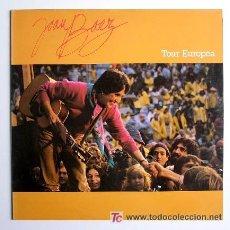 Discos de vinilo: JOAN BAEZ. 'TOUR EUROPEA'. 1988.. Lote 21951290
