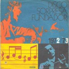 Discos de vinilo: MIGUEL RÍOS,DISCO SORPRESA FUNDADOR 1971: COMO EL VIENTO- DESPIERTA- ELLA SE FUE- SOLEDAD. Lote 27038166