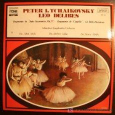 Discos de vinilo: LP - PETER I. TCHAIKOVSKY - LEO DELIBES - COLECCION RTVE - 1977. Lote 9174899