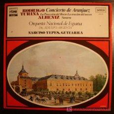 Discos de vinilo: LP - RODRIGO - TURINA - ALBENIZ - COLECCION RTVE - 1977. Lote 9174895