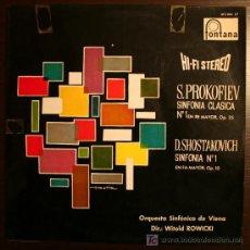 Discos de vinilo: LP - S. PROKOFIEV / SHOSTAKOVICH - FONTANA. Lote 10440253