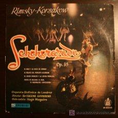 Discos de vinilo: LP - RIMSKY KORSAKOW - SHEREZADE - EVEREST/HISPAVOX. Lote 20414343