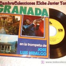 Discos de vinilo: ANTIGUO DISCO SINGLE - GRANADA JOSE LUIS HIDALGO. Lote 7171087