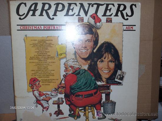 Carpenters Christmas Portrait.Carpenters Christmas Portrait