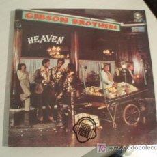 Discos de vinilo: LP. GIBSON BROTHERS. HEAVEN. EDICIÓN ESPAÑOLA DE 1978. Lote 7186579