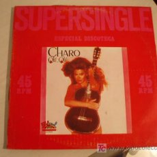 Discos de vinilo: SUPERSINGLE 12 PULGADAS. CHARO. OLÉ OLÉ. NORMAL + INSTRUMENTAL. PROMOCIONAL. ED. ESPAÑOLA DE 1978. Lote 7186626