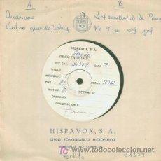 Disques de vinyle: LOLITA - SEAMAN - RARISIMO EP TEST PRESSING - PARA EL USO EXCLUSIVO INTERNO DE LA DISCOGRAFICA. Lote 7202594