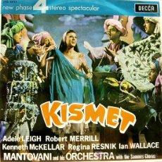 Discos de vinilo: BSO KISMET - MANTOVANI AND HIS ORCHESTRA LP DECCA 1965. Lote 7206643
