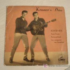 Discos de vinilo: RAREZA. KRONER´S DUO. JOVENES. ED. ESPAÑOLA DE 1960. Lote 7973238