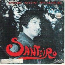 Discos de vinilo: SANTEIRO -POR NON PODER / TACA E BAILA EN GMA M1973. Lote 234997210