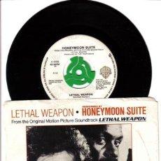 Discos de vinilo: BSO ARMA LETAL-HONEYMOON SUITE- MADE IN CANADA. Lote 24062712