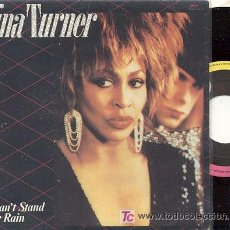 Discos de vinilo: TINA TURNER SINGLE I CANT STAND THE RAIN 1984 EMI SPA. Lote 7237157