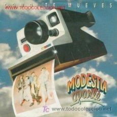 Discos de vinilo: MODESTIA APARTE SINGLE PROMOCIONAL COMO TE MUEVES 1991 MERCURY SPA. Lote 7238303
