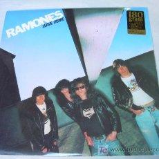 Discos de vinilo: LP RAMONES LEAVE HOME. Lote 16842445