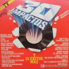 Discos de vinilo: '30 IMPACTOS'. DOBLE L.P. VARIOS ARTISTAS.. Lote 24589919