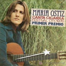 Discos de vinilo: MARIA OSTIZ .... CANTA CIGARRA FESTIVAL OTI - 1976. Lote 7257384
