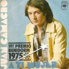 Discos de vinilo: JUAN CAMACHO ... 1ER PREMIO BENIDOR 1975. Lote 7257448