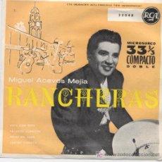 Discos de vinilo: MIGUEL ACEVES MEJIA,RANCHERAS. Lote 7286090