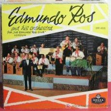 Discos de vinilo: EDMNDO ROS AND HIS ORCHESTRA (LITTLE SERENADE - A NIGHT OF ADVENTURE - PATRICIA - COULD IT BE) EP45. Lote 7286515