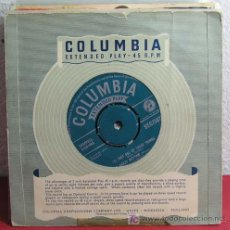 Discos de vinilo: DORIS DAY (CANADIAN CAPERS - YOU GO TO MY HEAD - JUST ONE OF THOSE THINGS - CRAZY RHYTHM) EP45. Lote 7286765