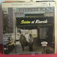 Vinyl records - SESSION AT RIVERSIDE featuring THE ALL STARS ( I WANT TO BE HAPPY - ESCAPE HATCH ) SINGLE 45 - 7287086