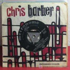 Discos de vinilo: CHRIS BARBER'S JAZZ BAND ( WILD CAT BLUES - PETITE FLEUR ) 1957-GERMANY SINGLE 45 METRONOME. Lote 7288227