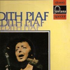 Discos de vinilo: EDITH PIAF LP SELLO FONTANA AÑO 1972 EDICCIÓN ESPAÑOLA.. Lote 7314582