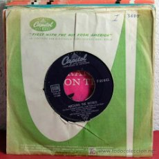 Discos de vinilo: NAT KINGCOLE WITH MCCOY'S BOYS BY BILLY MAY & ORCHESTRA ( AROUND HE WORLD - WITH YOU ON MY MIND ). Lote 7319465