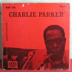 Discos de vinilo: CHARLIE PARKER ?– CHARLIE PARKER SWEDEN 1957 KARUSELL. Lote 7347954