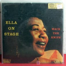 Discos de vinilo: ELLA FITZGERALD ( ELLA ON STAGE ) SWEDEN EP KARUSELL. Lote 7348120