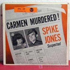 Discos de vinilo: SPIKE JONES 'MURDERS' CARMEN ( PART 1 Y PART 2 ) SINGLE 45. Lote 7358793