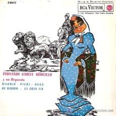 Discos de vinilo: FERNANDO GARCIA MORCILLO Y SU ORQUESTA EP SELLO RCA VICTOR AÑO 1963. Lote 7367819