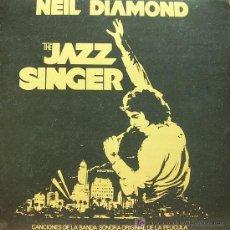 Disques de vinyle: BSO THE JAZZ SINGER- NEIL DIAMOND LP DOBLE PORTADA 1980. Lote 50587909