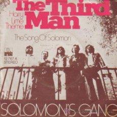 Discos de vinilo: BSO THE THIRD MAN - SOLOMON'S GANG - SG ARIOLA 1973. Lote 7372219