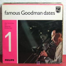 Discos de vinilo: FAMOUS GOODMAN DATES Nº1 (LIZA - AFTER YOU'VE GONE - SLIPPED DISC - BREAKFAST FEUD) HOLANDA EP45. Lote 7392507