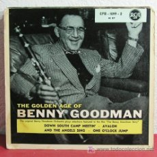 Discos de vinilo: THE GOLDEN AGE OF BENNY GOODMAN, GERMANY EP RCA. Lote 7392739