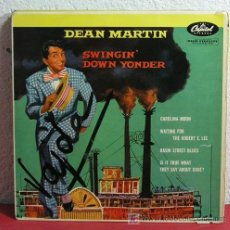 Discos de vinilo: DEAN MARTIN (CAROLINA MOON - AITING FOR THE ROBERT E. LEE - BASIN STREET BLUES - IS IT TRUE WHAT...). Lote 7393237