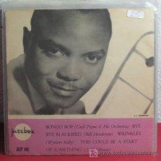 Discos de vinilo: CECIL PAYNE & HIS ORCHESTRA - BILL HENDERSON - WYNTON KELLY - J.J. JOHNSON EP45 SWEDEN. Lote 7402650