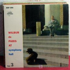 Discos de vinilo: WILBUR DE PARIS & HIS NEW NEW ORLEANS JAZZ ( PIANO BLUES - FAREWELL BLUES ) 1957 SINGLE45. Lote 7402952