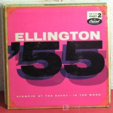 Discos de vinilo: DUKE ELLINGTON AND HIS FAMOUS ORCHESTRA ( HAPPY GO LUCKY LOCAL - FLYING HOME ) USA-1956 SINGLE. Lote 7403122